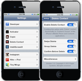 how to delete contacts on textme app